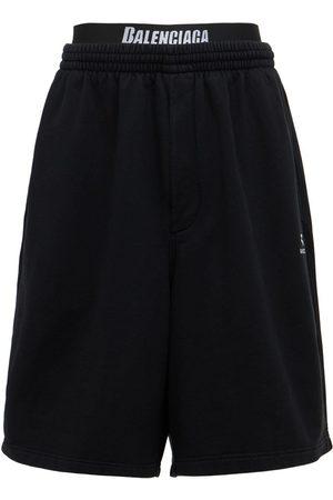 Balenciaga Cotton Sweat Shorts