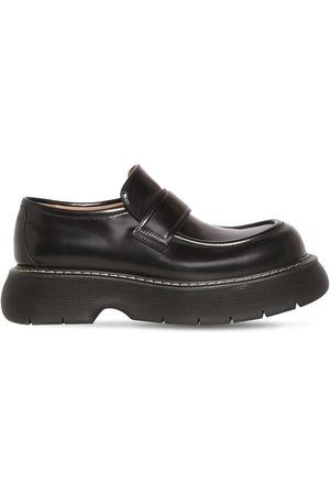 Bottega Veneta Bounce Leather Loafers