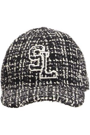 Saint Laurent Kvinna Hattar - Casquette Tweed Hat