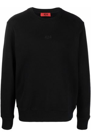 424 FAIRFAX Man Sweatshirts - Tröja med broderad logotyp