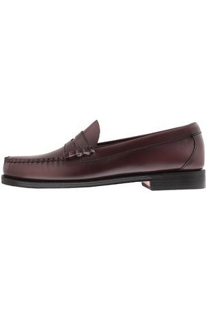 G.H. Bass Man Loafers - Larson Moc Penny Loafers Burgundy