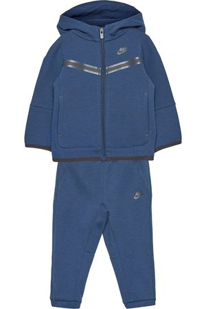 Nike Barn Jackor - Nsw Tech Fleece Set Outerwear Fleece Outerwear Fleece Suits
