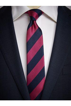 John Henric Man Slipsar - Blue & Pink Tie Club
