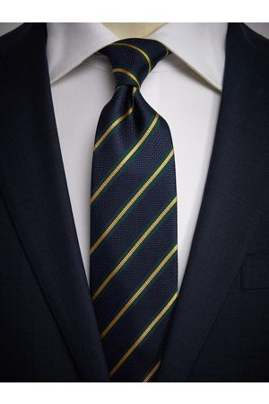 John Henric Blue & Yellow Tie Striped