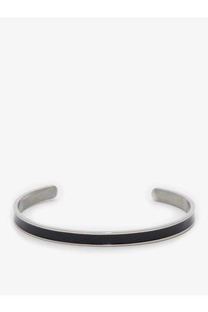 John Henric Man Armband - Black & Silver Bracelet Burnie