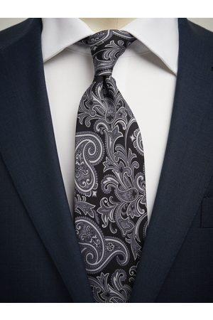 John Henric Man Slipsar - Black Tie Paisley