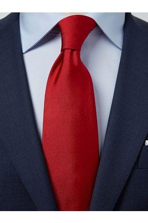 John Henric Man Slipsar - Red Tie Plain