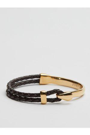 John Henric Man Armband - Gold Bracelet Dresden