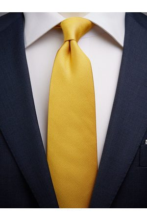 John Henric Man Slipsar - Gold Tie Plain