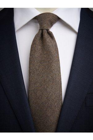 John Henric Brown Cashmere Tie