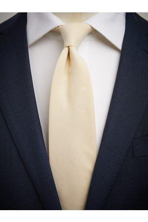 John Henric Man Slipsar - Yellow Tie Cotton