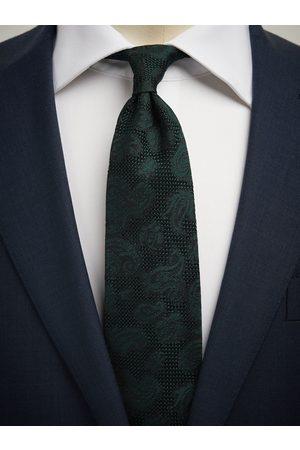John Henric Man Slipsar - Green Grenadine Tie