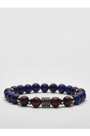 John Henric Blue Beaded Bracelet Bowral