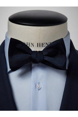 John Henric Man Flugor - Dark Blue Bow Tie Plain