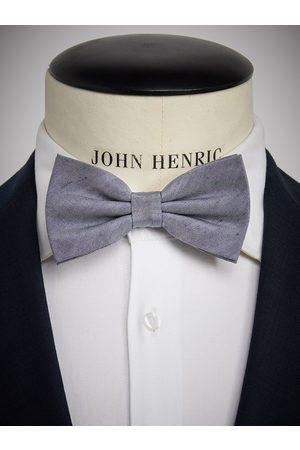 John Henric Blue Bow Tie Linen