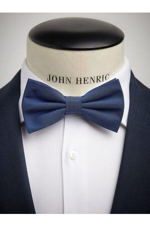 John Henric Blue Bow Tie Cotton