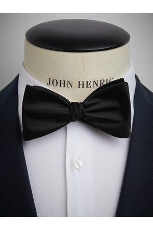 John Henric Black Bow Tie Plain