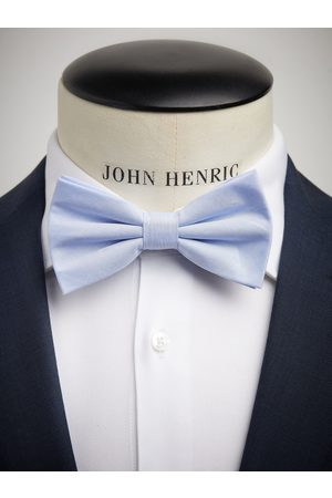 John Henric Light Blue Bow Tie Cotton