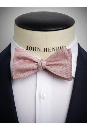 John Henric Dusty Pink Bow Tie Plain