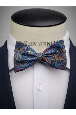 John Henric Green Bow Tie Paisley