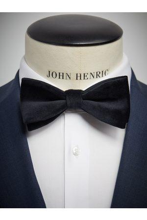 John Henric Black Velvet Bow Tie