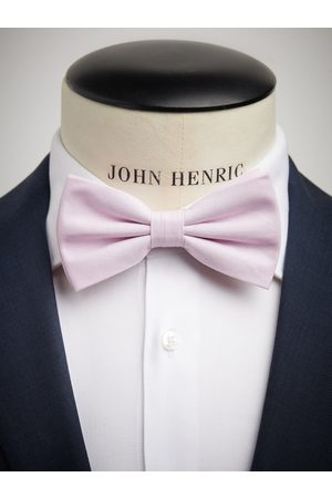 John Henric Pink Bow Tie Cotton