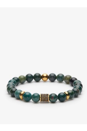John Henric Man Armband - Green Beaded Bracelet Graz