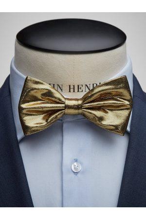 John Henric Man Flugor - Gold Bow Tie Formal
