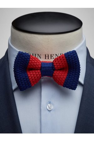John Henric Blue Bow Tie Wool Club