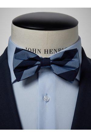 John Henric Blue & Light Blue Bow Tie Club