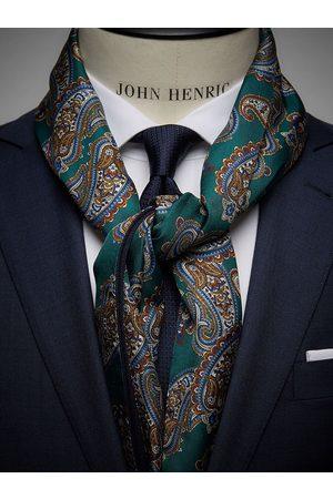 John Henric Green Wool & Silk Scarf