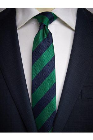 John Henric Blue & Green Tie Club