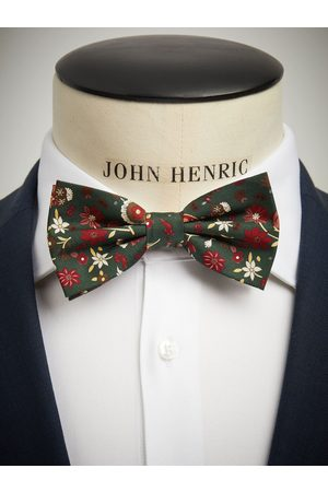 John Henric Green Bow Tie Floral