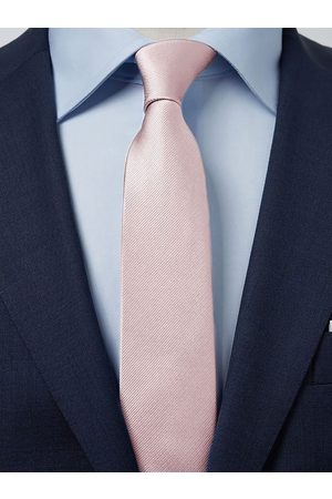 John Henric Pink Tie Plain
