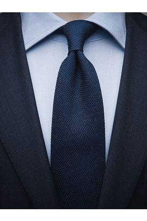John Henric Blue Grenadine Tie