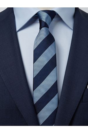 John Henric Blue & Light Blue Tie Club