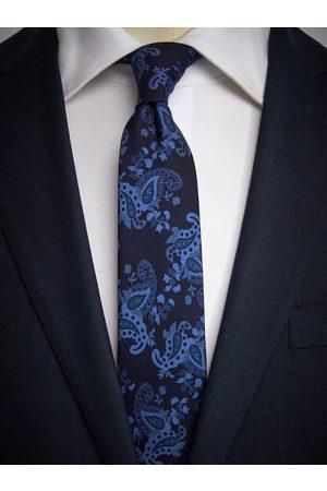 John Henric Blue Tie Paisley