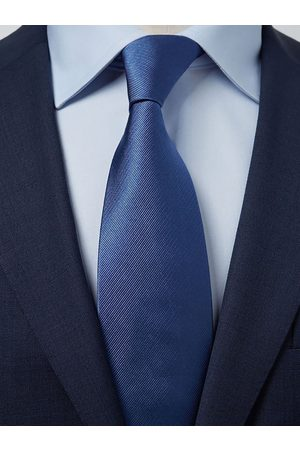 John Henric Blue Tie Plain