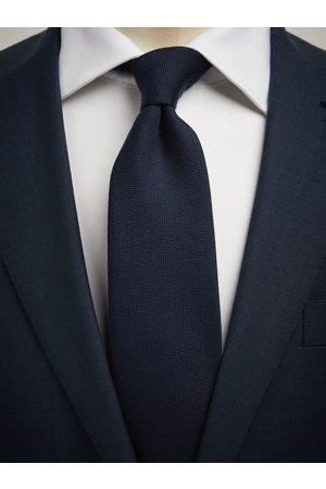 John Henric Blue Tie Wool