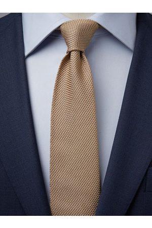 John Henric Beige Grenadine Tie