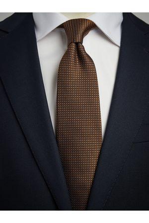 John Henric Blue & Gold Tie Motif