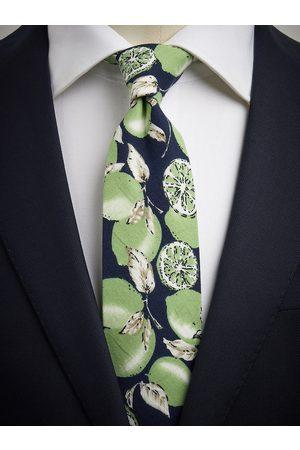 John Henric Green & Blue Tie Floral