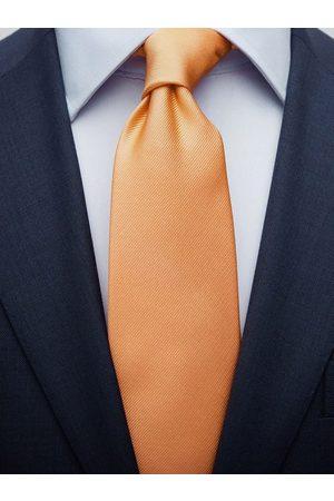 John Henric Apricot Tie Plain