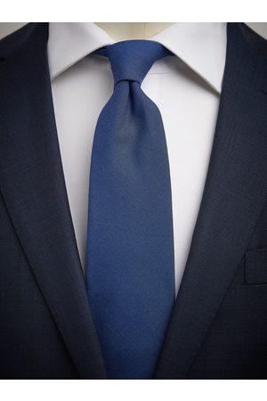 John Henric Man Slipsar - Blue Tie Cotton