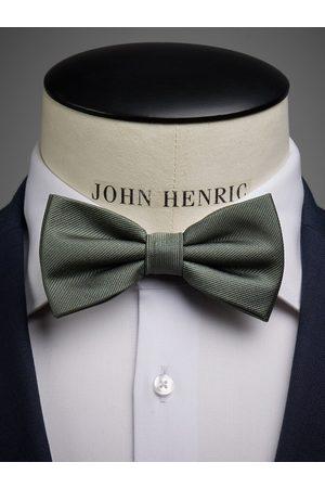 John Henric Olive Green Bow Tie Plain