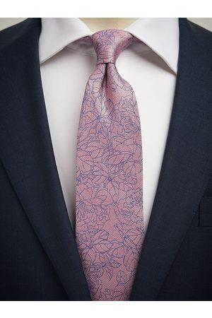 John Henric Pink Tie Floral