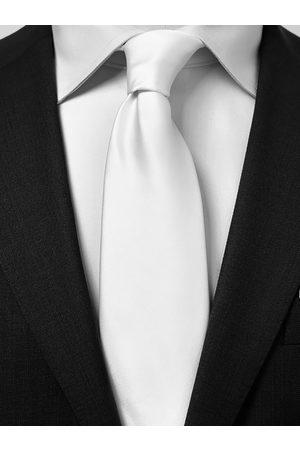 John Henric White Tie Plain