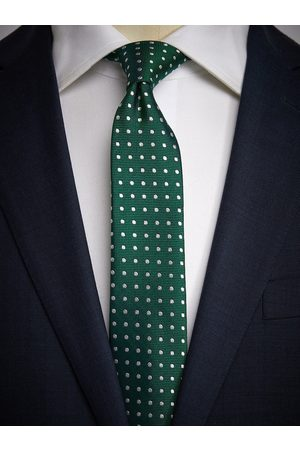 John Henric Green Dot Tie