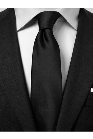 John Henric Black Tie Plain