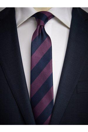 John Henric Man Slipsar - Blue & Purple Tie Club